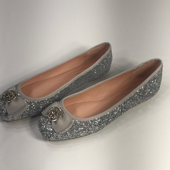 Kate Spade Fontana Too Silver Glitter
